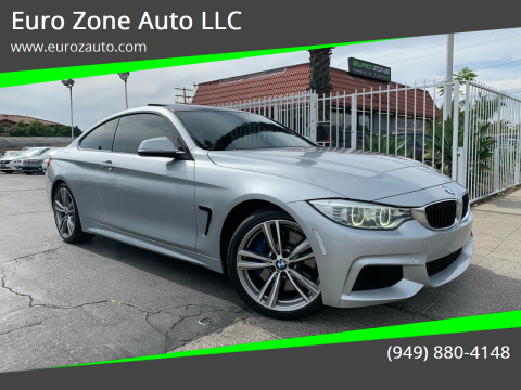 2014 BMW 4 Series for sale at Euro Zone Auto in Stanton CA