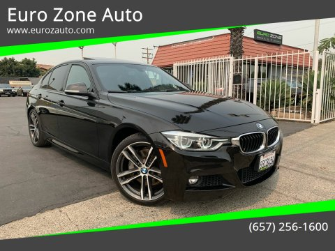 2018 BMW 3 Series for sale at Euro Zone Auto in Stanton CA