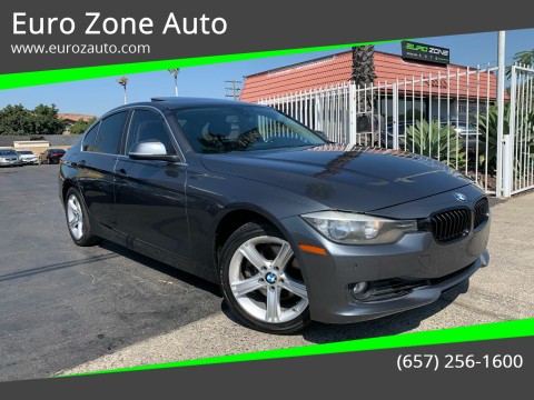2015 BMW 3 Series for sale at Euro Zone Auto in Stanton CA