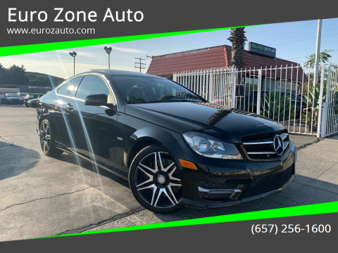 2014 Mercedes-Benz C-Class for sale at Euro Zone Auto in Stanton CA