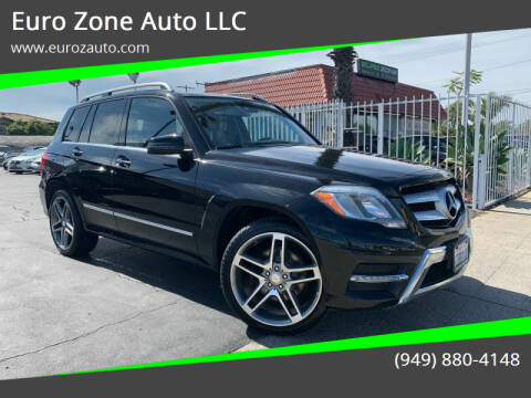 2013 Mercedes-Benz GLK for sale at Euro Zone Auto in Stanton CA