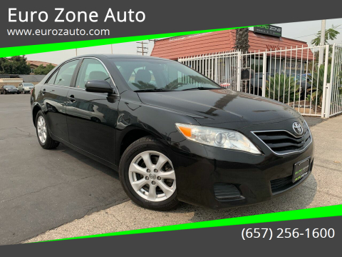 2011 Toyota Camry for sale at Euro Zone Auto in Stanton CA