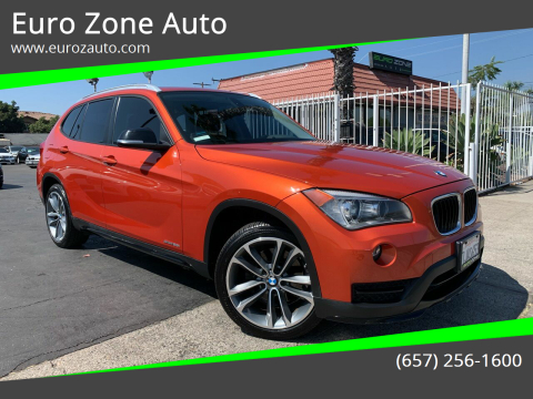 2015 BMW X1 for sale at Euro Zone Auto in Stanton CA