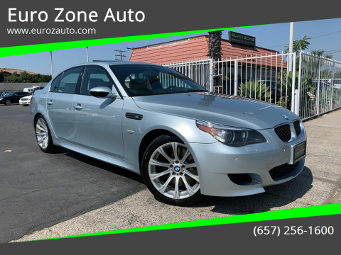 2006 BMW M5 for sale at Euro Zone Auto in Stanton CA