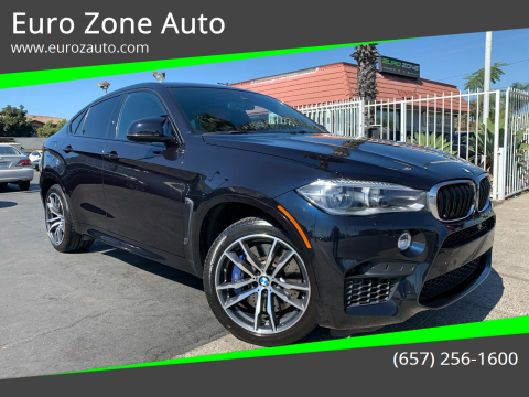 2015 BMW X6 M for sale at Euro Zone Auto in Stanton CA