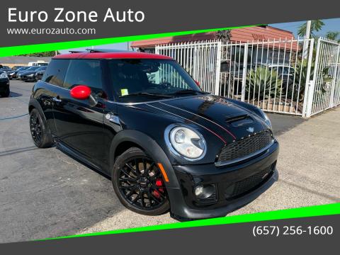 2012 MINI Cooper Hardtop for sale at Euro Zone Auto in Stanton CA