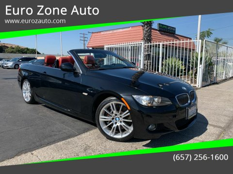 2010 BMW 3 Series for sale at Euro Zone Auto in Stanton CA