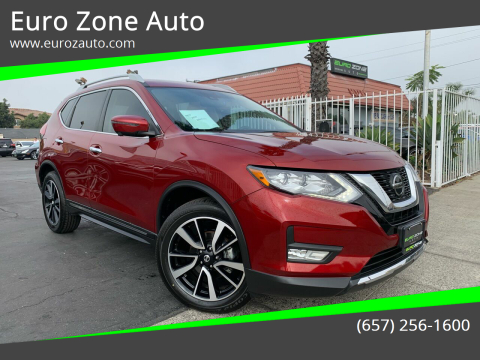 2019 Nissan Rogue for sale at Euro Zone Auto in Stanton CA