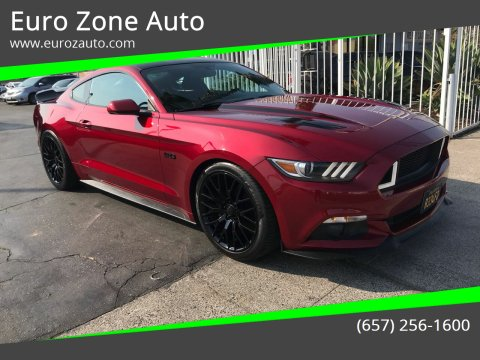 2017 Ford Mustang for sale at Euro Zone Auto in Stanton CA