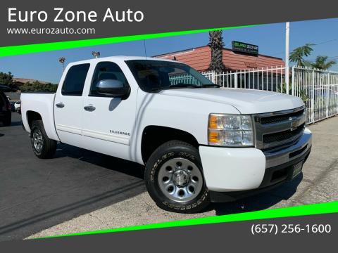 2011 Chevrolet Silverado 1500 for sale at Euro Zone Auto in Stanton CA