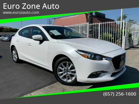 2017 Mazda MAZDA3 for sale at Euro Zone Auto in Stanton CA