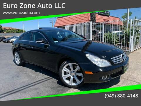 2008 Mercedes-Benz CLS for sale at Euro Zone Auto in Stanton CA