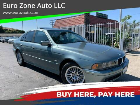 2002 BMW 5 Series for sale at Euro Zone Auto in Stanton CA