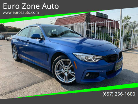 2017 BMW 4 Series for sale at Euro Zone Auto in Stanton CA