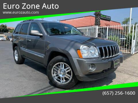 2007 Jeep Grand Cherokee for sale at Euro Zone Auto in Stanton CA
