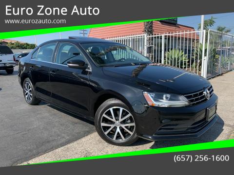 2018 Volkswagen Jetta for sale at Euro Zone Auto in Stanton CA