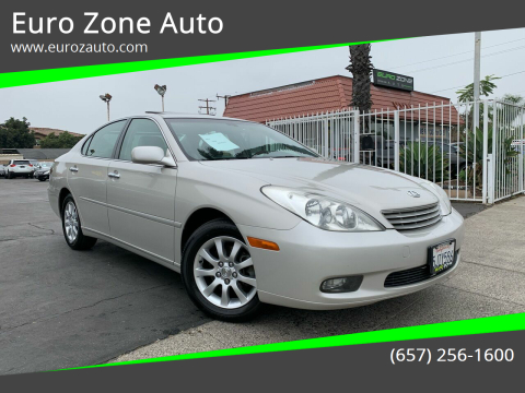 2004 Lexus ES 330 for sale at Euro Zone Auto in Stanton CA
