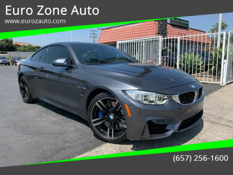 2015 BMW M4 for sale at Euro Zone Auto in Stanton CA