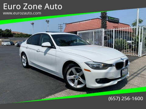 2013 BMW 3 Series for sale at Euro Zone Auto in Stanton CA