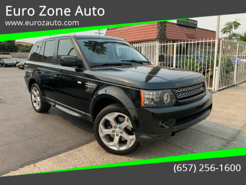 2013 Land Rover Range Rover Sport for sale at Euro Zone Auto in Stanton CA