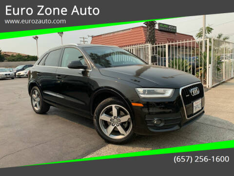 2015 Audi Q3 for sale at Euro Zone Auto in Stanton CA