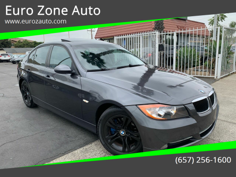 2008 BMW 3 Series for sale at Euro Zone Auto in Stanton CA