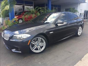2013 BMW 5 Series for sale in Buena Park, CA