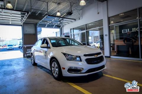 2015 Chevrolet Cruze for sale in Milford, CT