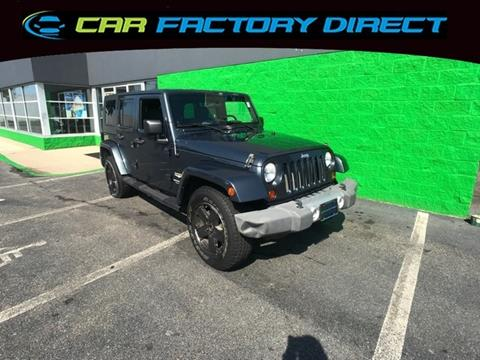 2008 Jeep Wrangler Unlimited for sale in Milford, CT