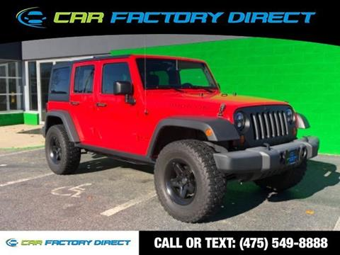 2013 Jeep Wrangler Unlimited for sale in Milford, CT