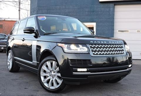 2015 Land Rover Range Rover for sale in Saugus, MA