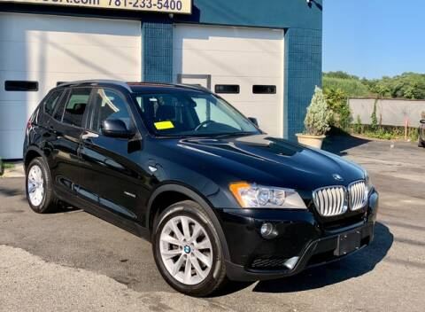 2014 BMW X3 for sale at Saugus Auto Mall in Saugus MA