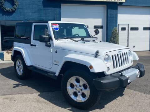 2014 Jeep Wrangler for sale at Saugus Auto Mall in Saugus MA
