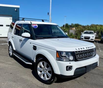 2015 Land Rover LR4 for sale at Saugus Auto Mall in Saugus MA