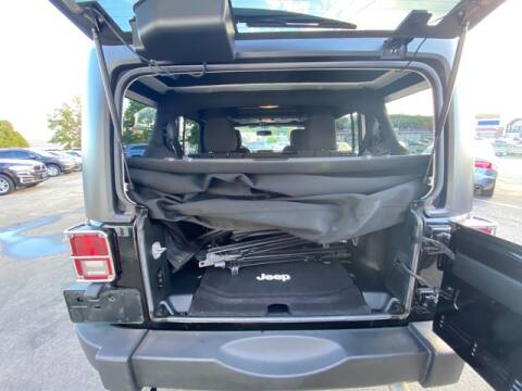 2017 Jeep Wrangler Unlimited for sale at Saugus Auto Mall in Saugus MA