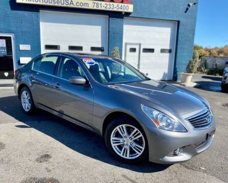 2013 Infiniti G37 Sedan for sale at Saugus Auto Mall in Saugus MA