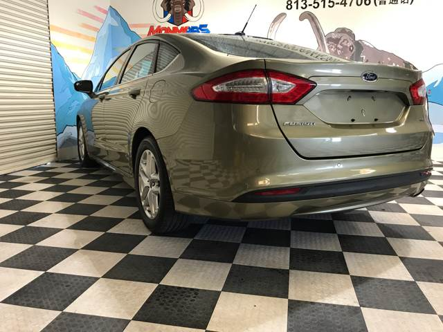 2013 Ford Fusion for sale at Monmars Auto Club in Tampa FL