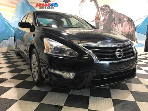 2014 Nissan Altima for sale at Monmars Auto Club in Tampa FL