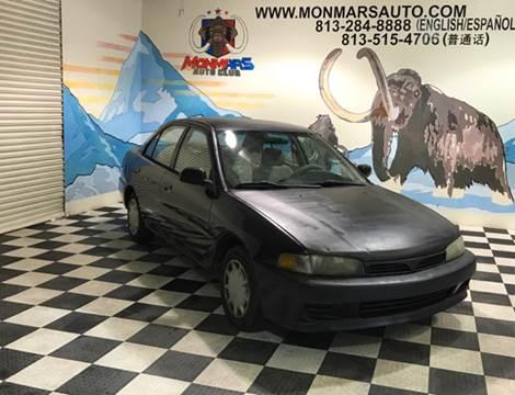 2001 Mitsubishi Mirage for sale at Monmars Auto Club in Tampa FL