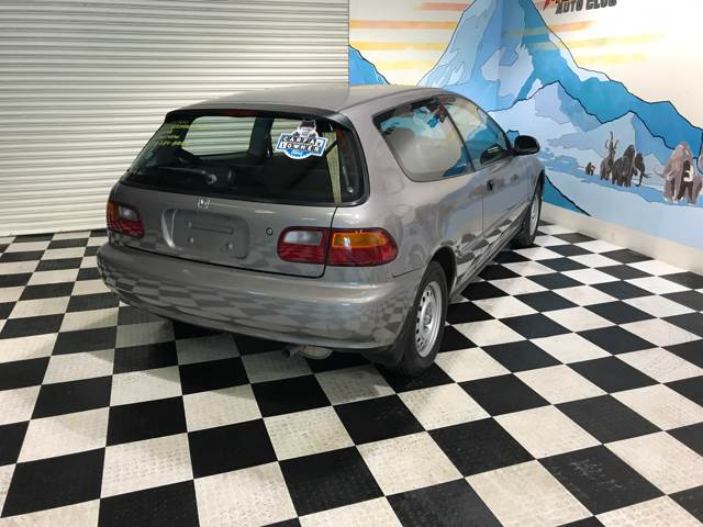 1993 Honda Civic for sale at Monmars Auto Club in Tampa FL
