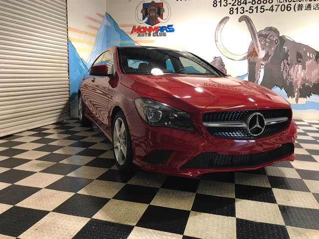 2015 Mercedes-Benz CLA for sale at Monmars Auto Club in Tampa FL