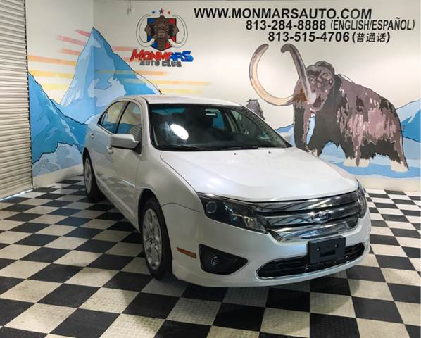2010 Ford Fusion for sale at Monmars Auto Club in Tampa FL