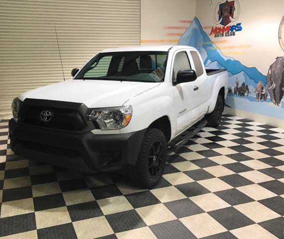 2015 Toyota Tacoma for sale at Monmars Auto Club in Tampa FL