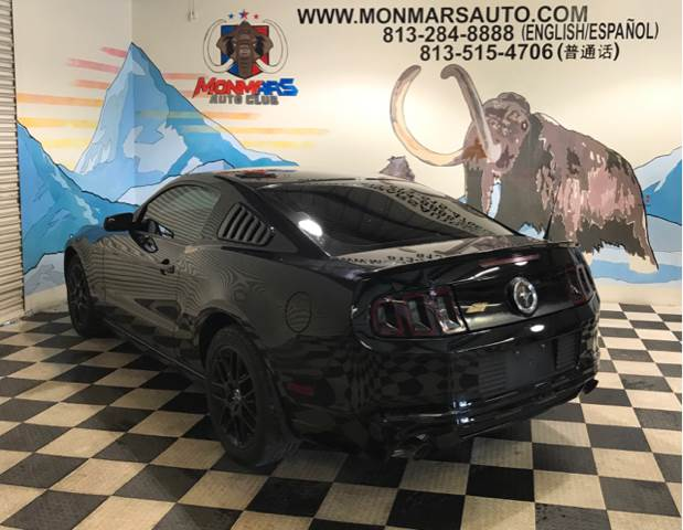 2014 Ford Mustang for sale at Monmars Auto Club in Tampa FL