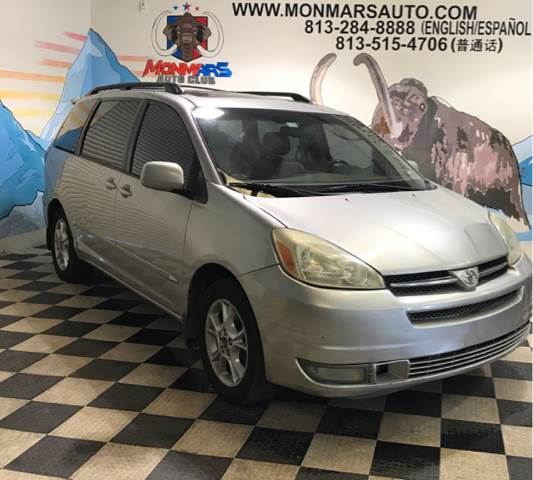 2004 Toyota Sienna for sale at Monmars Auto Club in Tampa FL
