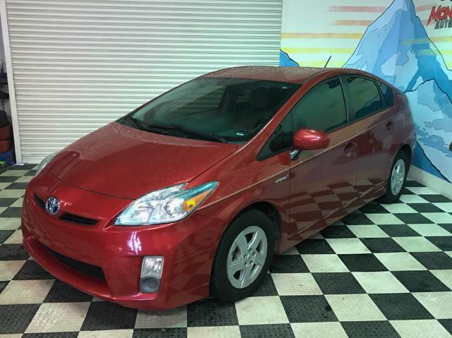 2011 Toyota Prius for sale at Monmars Auto Club in Tampa FL