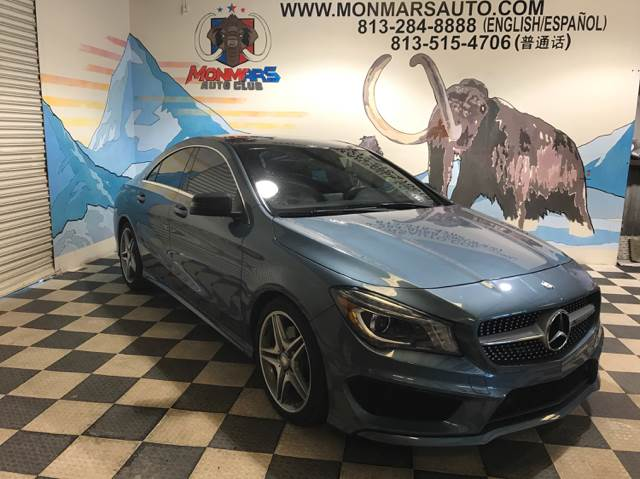 2014 Mercedes-Benz CLA for sale at Monmars Auto Club in Tampa FL