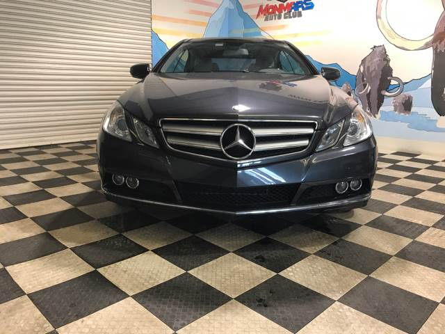 2010 Mercedes-Benz E-Class for sale at Monmars Auto Club in Tampa FL