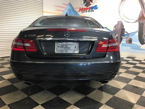 2010 Mercedes-Benz E-Class for sale at Monmars Auto Club in Tampa FL