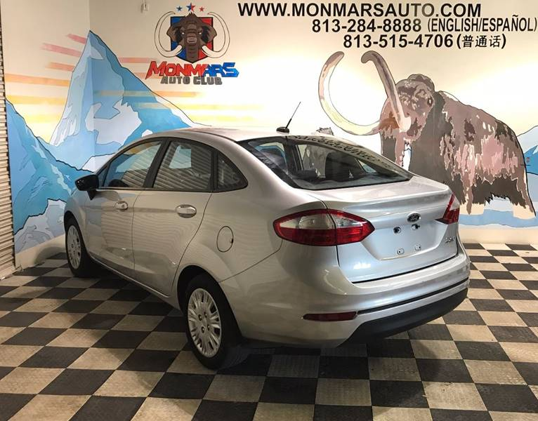 2015 Ford Fiesta for sale at Monmars Auto Club in Tampa FL